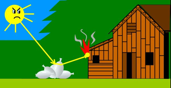 la casa brucia!