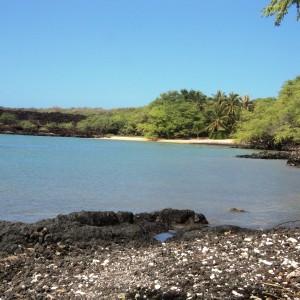 Figura 1. Maui. Una spiaggia ultra protetta della riserva integrale di Ahihi-Kinai.