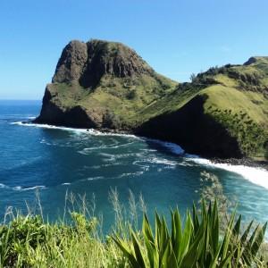 Figura 3. Maui. Kahakuloa Head, il fantastico promontorio che domina la costa nord-est.