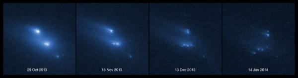 frammentazione asteroide