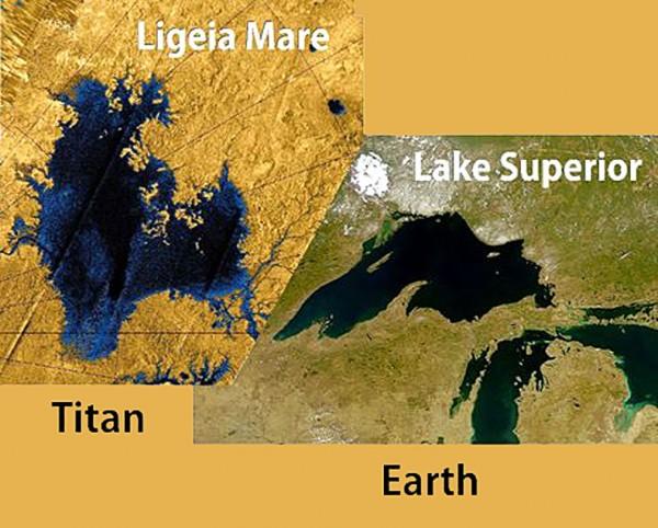 laghi di Titano