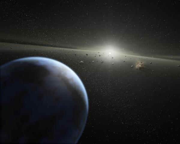 asteroidi e pianeti attorno a nana bianca