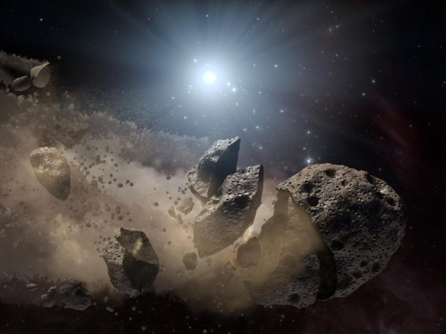 artists-impression-asteroid