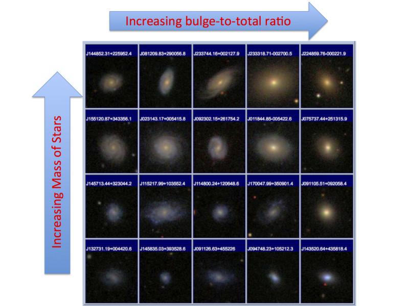 statistica galassie