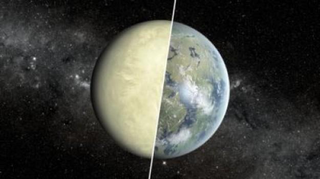 E se si trovasse un pianeta come questo? Dr. Jekill e Mr. Hyde… Credit: NASA/JPL-Caltech/Ames