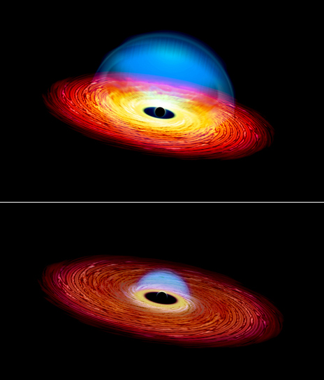 Prima e dopo... Fonte: Michael Helfenbein/Yale University