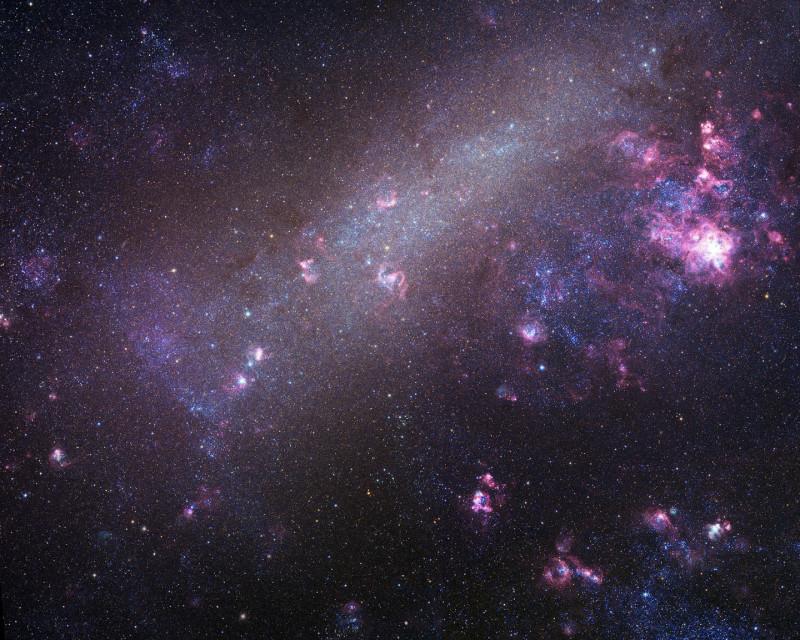 La Grande Nube di Magellano. Fonte: Robert Gendler and Josch Hambsch 2005