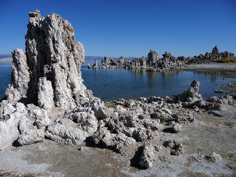 Il lago Mono in California. Fonte: Octagon
