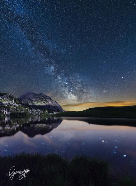 somma cielo paesaggioVia Lattea Passo Valparola nome jpg