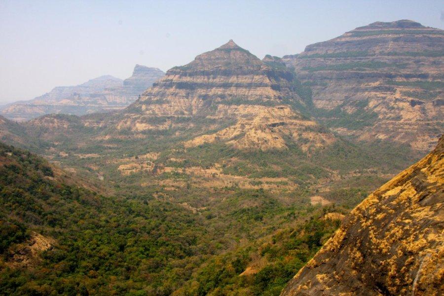 Gli strati magmatici successivi presenti nel Deccan (india)