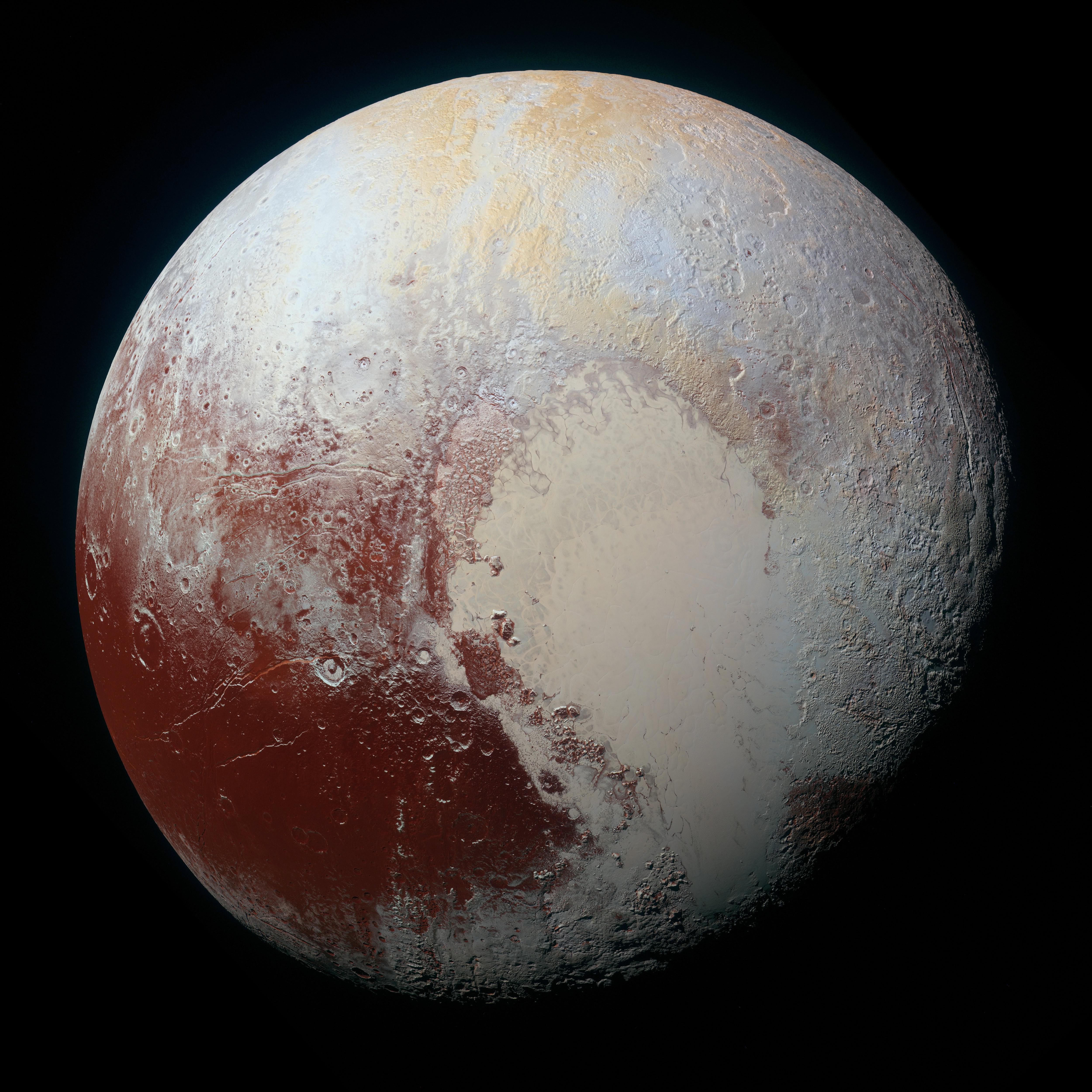 Plutone a colori! Fonte: NASA/JHUAPL/SwRI