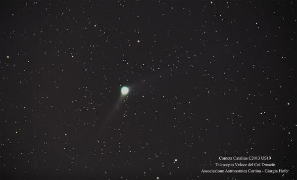 La cometa Catalina C2013 US10
