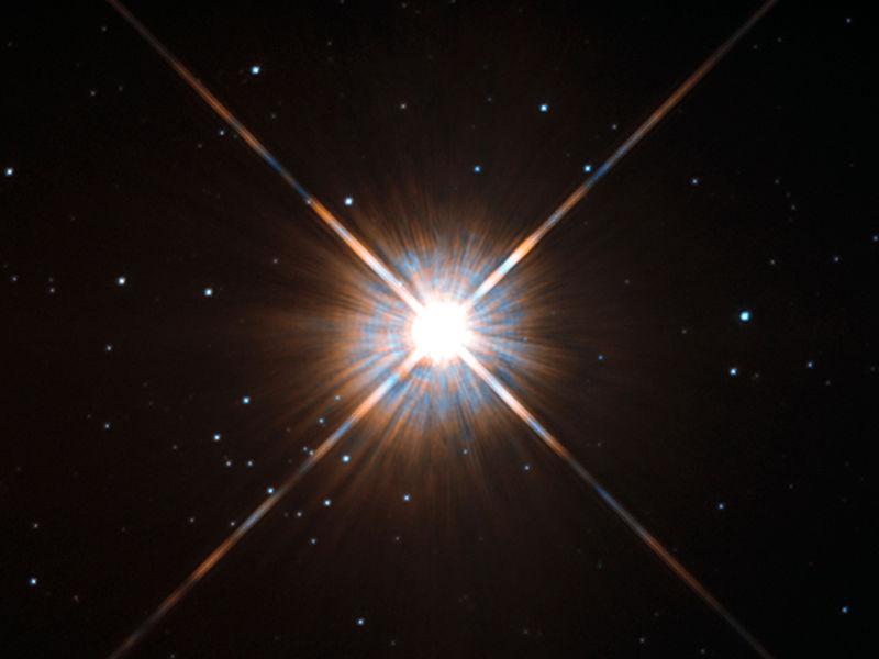 Proxima Centauri, la stella più vicina a noi, è una nana rossa...