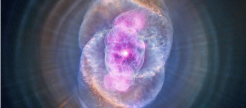 La nebulosa Occhio di Gatto, una fantastica opera d'arte naturale.