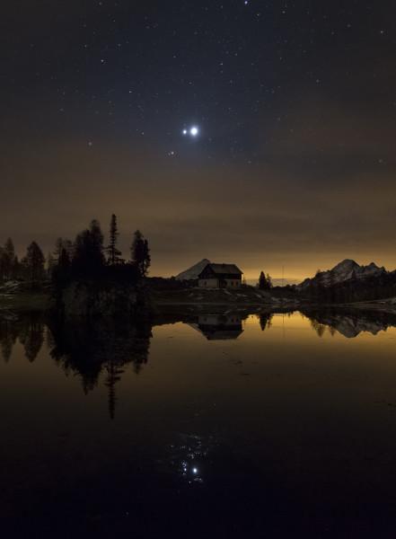 Menzione d'onore per la foto scattata da Alessandra Masi al Lago Federa.