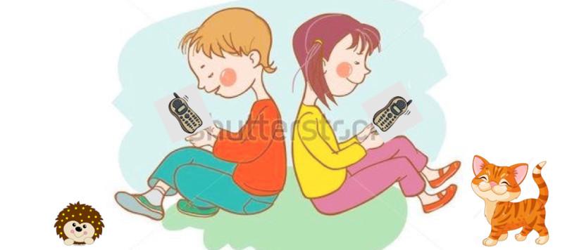 bambini al telefono.001