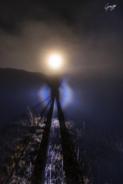 Lo spettro di Broken e la gloria Lunare