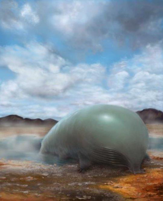 Un bellissimo ippopotamo (o qualcosa del genere) si sta cibando di silicio. Una visione di pura fantasia… ma per quanto? Fonte: Lei Chen and Yan Liang (BeautyOfScience.com) for Caltech
