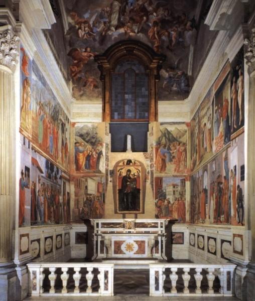 Cappella Brancacci - Basilica di Santa Maria del Carmine (Firenze)
