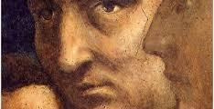 Tommaso di ser Giovanni di Mone Cassai  detto MASACCIO (1401 - 1428) Di profilo LEON BATTISTA ALBERTI (1404 - 1472)