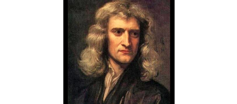 Newton ritratto 3