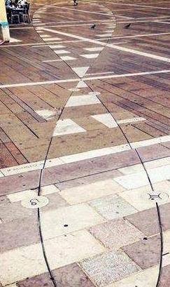 analemma piazza grande oderzo
