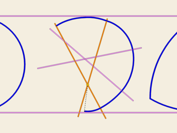 Curve non simmetriche