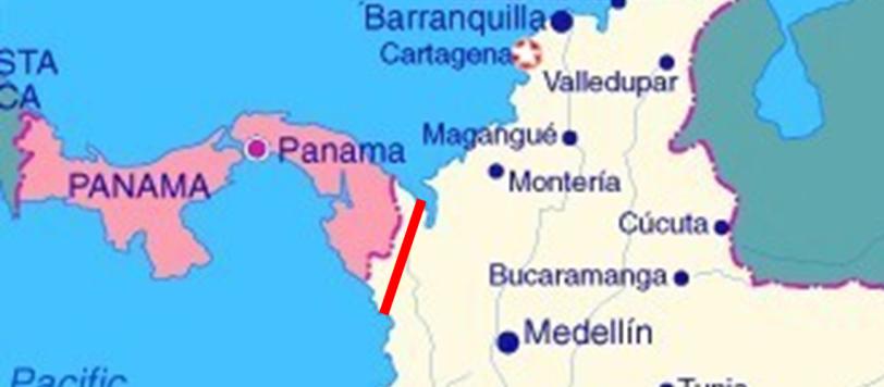 Il nuovo Canale di Panama che poteva essere scavato da Geographos nel suo passaggio ravvicinato del 1994 (leggermente modificato…)
