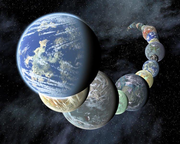Una serie di terre tutte abitate da simil-terrestri? No, no, sarebbe un incubo per qualsiasi stella! Credit: NASA/JPL-Caltech/R. Hurt (SSC-Caltech).