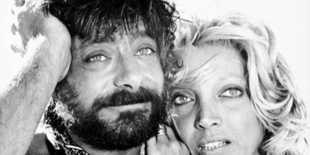 Giancarlo Giannini e  Mariangela Melato in una foto di scena del film 'Travolti da un insolito destino'. ANSA