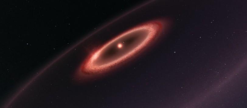 Il sistema di Proxima Centauri. Chi ha la vista molto buona può anche notare il pianeta terrestre. Fonte: ESO/M. Kornmesser