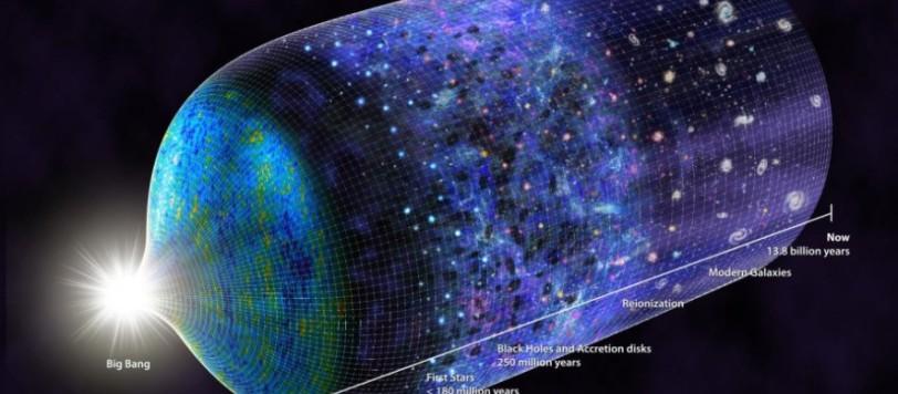 L'evoluzione dell'Universo ha visto aggiungersi un piccolo tassello: la prima stella che sta nascendo, 180 milioni di anni dopo il Big Bang. Fonte: N.R.Fuller, National Science Foundation.