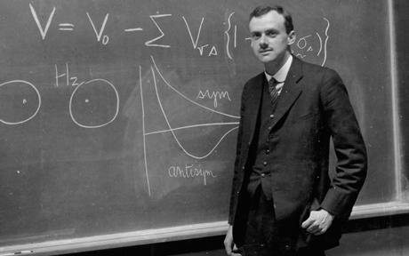 Paul Adrien Maurice Dirac (1902-1984 Premio Nobel nel 1933)