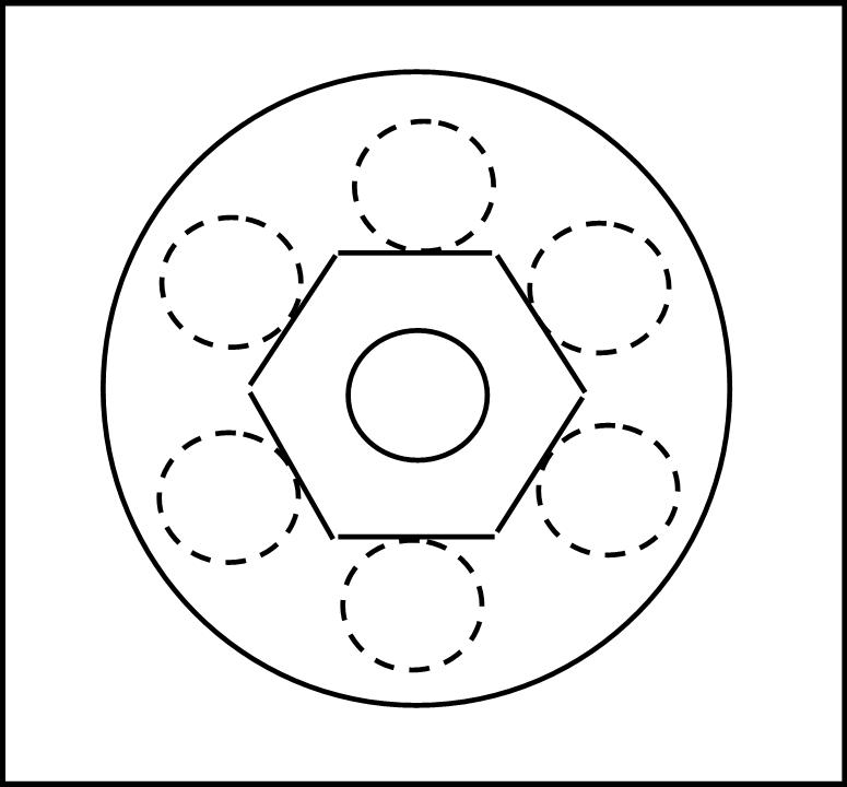 L'esagono di Saturno (con i cerchi -per adesso- invisibili?)