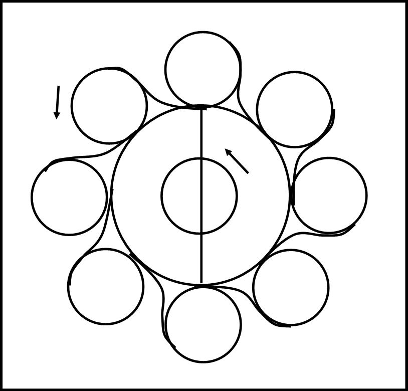 L'ottagono circolare di Giove