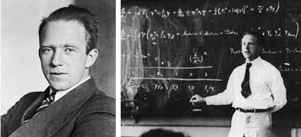Werner Heisenberg (1901-1976 Premio Nobel nel 1932)