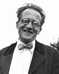 Erwin Schroedinger (1887-1961 Premio Nobel nel 1933)