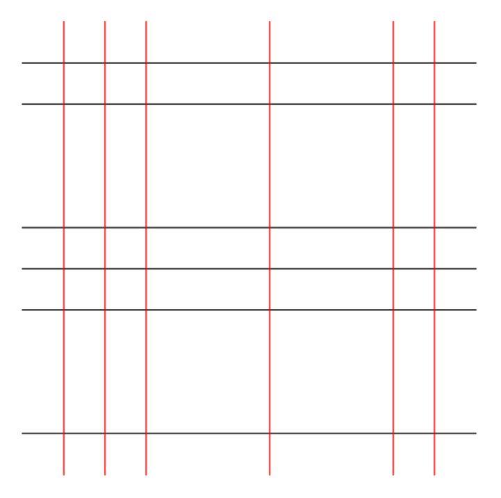 reticolo linee