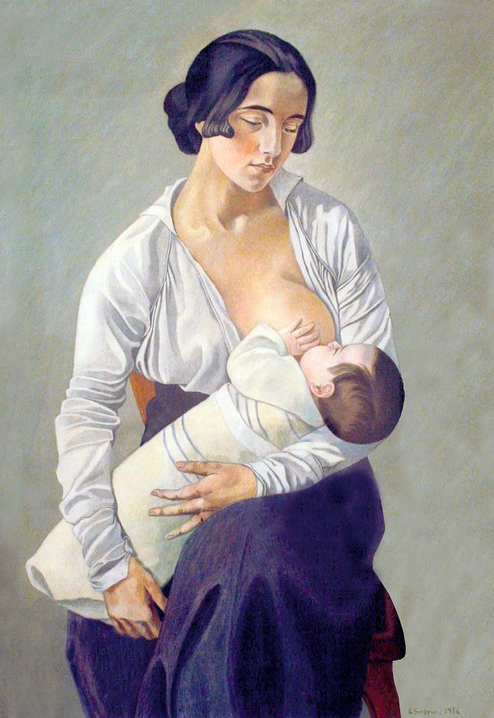 Gino-Severini-Maternità