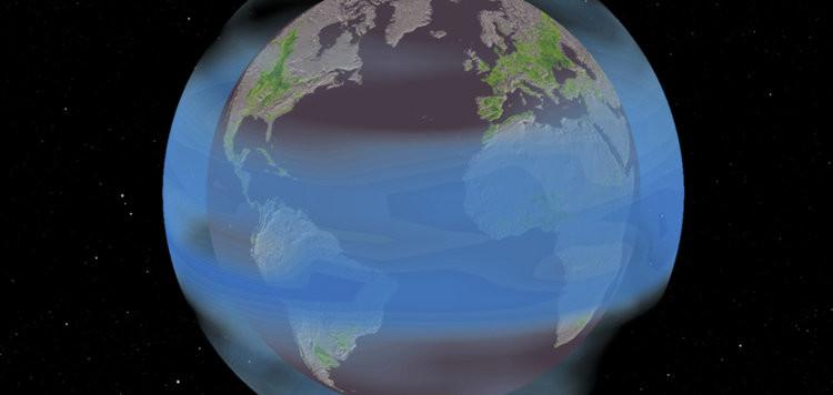 """Questa figura è stata presa dai media """"scientifici"""" e ho tradotto letteralmente la didascalia (spaventoso è dir poco!) Se le eruzioni vulcaniche raffreddano la Terra aumentando la quantità di aerosol nell'atmosfera, potremmo pensare di fare lo stesso artificialmente in modo da ridurre gli effetti del riscaldamento globale. Fonte: Solomon Hsiang, Jonathan Proctor graphic"""
