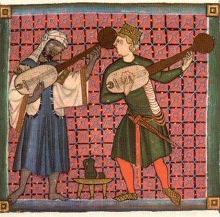 """Una """"tenzone"""" tra trobadori (sec. XIII). Dante ne ha avuta una celebre con Francesco Donati..."""