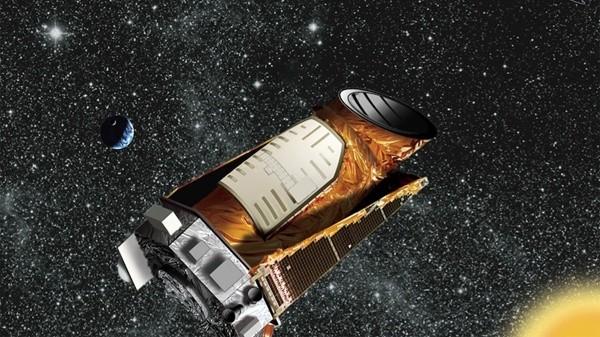 Il telescopio Kepler. Fonte: NASA