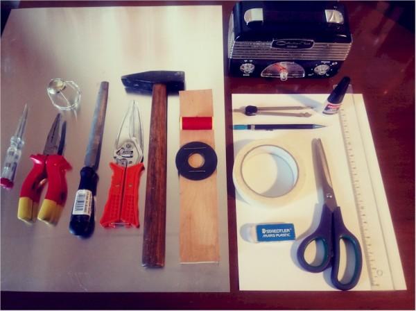 materiali e attrezzi