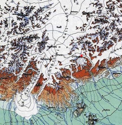 Il lago di Garda e la Valle dell'Adige al termine dell'ultimo periodo glaciale