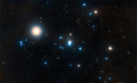 Le Iadi, viste senza alcuna tecnologia avanzata (notare la bellissima Aldebaran). Fonte: NASA, ESA, and STSc