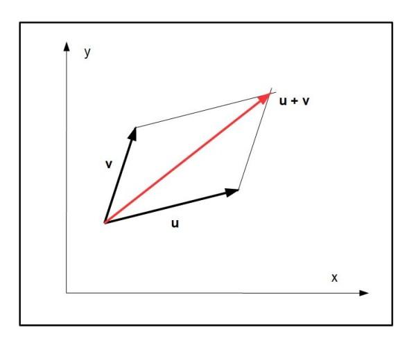 Con un semplice parallelogramma Vittore sapeva costruire la somma di due vettori.