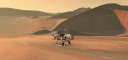 dragonfly-landing
