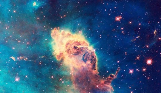 La Carina Nebula, una delle tante fabbriche della vita? Fonte: NASA/Douglas James Butner
