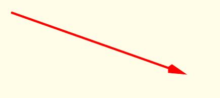 Vettore spostamento come vettore-freccia